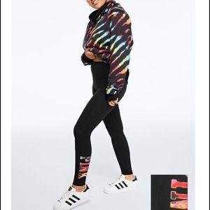PINK MATCHING OUTFIT leggings/sherpa sweater